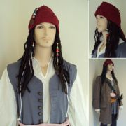 Capt. Jack Sparrows Complete Wig Set